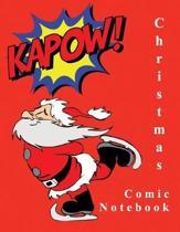 Christmas Comic Notebook