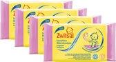 Zwitsal - Sensitive Billendoekjes - 57 doekjes per pak - 4 pakken