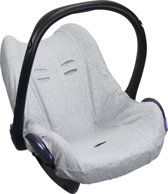 Dooky Seat Cover 0+ Autostoel hoes Light Grey Melange