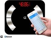 FlinQ Bluetooth Personenweegschaal met Volledige Lichaamsanalyse - Weegschaal - Nederlandse APP