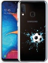 Galaxy A20e Hoesje Soccer Ball