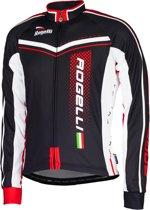 Rogelli Gara Mostro Fietsshirt - Maat 3XL - Mannen - zwart/rood