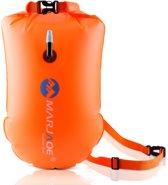 Premium Safe swimmer Zwemboei voor Veilig Openwater en Triatlon Zwemmen - inclusief drybag om sleutels in op te bergen | Marjaqe Outdoor gear