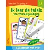 Boekomslag van 'Ik leer de tafels van vermenigvuldiging 7-8 jaar 2e leerjaar/groep 4'