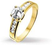 Huiscollectie 4013402 Gouden dames ring
