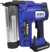 T-Mech Nietpistool Elektrisch / Accu - Nietmachine Elektrisch - Nagelpistool - 1 Batterij