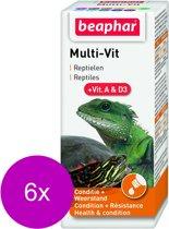 Beaphar Multi-Vit Reptielen - Supplement - 6 x 20 ml