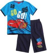 Disney Cars T-Shirt En Korte Broek - Marineblauw - Maat 116
