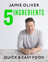 Boekomslag van 'Jamie Oliver 5 Ingredients - Quick & Easy Food'