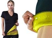 Saunafit thermisch afslank shirt - maat M/L - op een gezonde manier afvallen