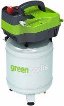 Greenworks Luchtcompressor elektrisch verticaal GD24AC 300 W 4101707