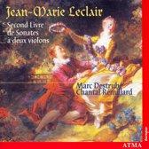 Leclair: Second Book Of Sonatas For 2 Violins