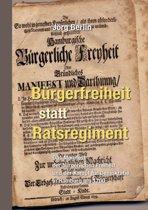 B Rgerfreiheit Statt Ratsregiment