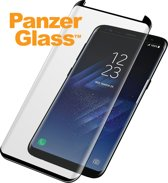 PanzerGlass Case Friendly Screenprotector voor Samsung Galaxy S8 Plus - Zwart