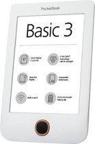 Pocketbook Basic 3 e-book reader 8 GB Wi-Fi Zwart, Wit