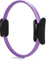 #DoYourFitness - 4x Pilates Ring - »Loop« - voor effectieve pilates-oefeningen - Ø 37,6 cm - violet (4x)