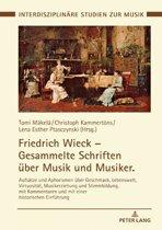 Friedrich Wieck Gesammelte Schriften ueber Musik und Musiker