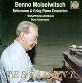 Benno Moiseiwitsch - Schumann & Grieg Piano Concertos etc