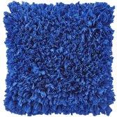 Dutch Decor Romano - Sierkussen - 45x45 cm - Blauw