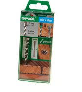 Spax trappenboor 4,1/6,5mm tbv vlonderschroef