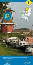 ANWB waterkaart B - Friesland 2016-2017