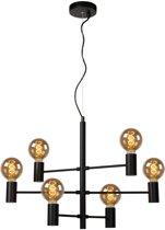 Lucide LEANNE - Hanglamp - E27 - Zwart