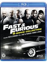 Fast & Furious Boxset 1-8 + Hobbs and Shaw (Blu-Ray)