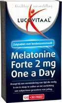 Lucovitaal - Melatonine Forte 2 mg - 150 tabletten - Voedingssupplementen