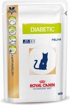 Royal Canin Diabetic - Maaltijdzakjes - Kattenvoer - 12 x 100 g