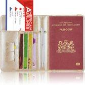 Paspoorthoesje / Paspoorthouder - V2 - Champagne Goud