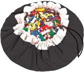 Play & Go opbergzak / speelmat - zwart