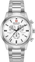 Swiss Military Hanowa 06-5308.04.001 horloge heren - zilver - edelstaal
