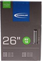 Schwalbe X-Light - Binnenband Fiets - Auto Ventiel - 26  x 1.50 - 2.35