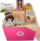 Choco Delight - Cadeaudoos - Cadeau tip (geschenkmand)