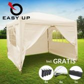 PTS Partytent - Cr�me - Polyester - 3x3m