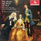 W.A. Mozart, J.M. Haydn, J.C. Bach