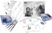 Verjaardag tekenset Frozen™ - Feestdecoratievoorwerp
