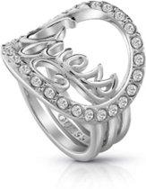 GUESS Jewellery Ring GUESS AUTHENTICS -  Dames -  Zilverkleurig -
