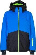 Icepeak Hale Ski Jas Junior Wintersportjas - Maat 152  - Jongens - blauw/zwart/groen
