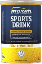 2x Maxim Sports Drink fresh Lemon 480g