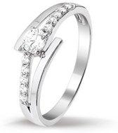 Huiscollectie 1317532 Zilveren zirkonia ring