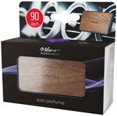 Vinove Autoparfum Milano - Auto luchtverfrisser - Luchtrooster bevestiging