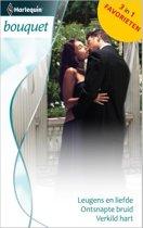 Leugens en liefde / Ontsnapte bruid / Verkild hart - Bouquet Favorieten 377, 3-in-1