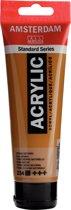 Amsterdam Standard acrylverf tube 120ml - Sienna naturel - dekkend