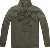 Twinlife Men - Sweater met Knopen