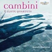 Cambini: 6 Flute Quartets