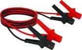 Einhell Startkabels BT-BO 25/1 A - Lengte kabel: 3,5 M - Intensiteit: 350 A - Geschikt voor Benzine-/ (Max. 5500 ccm) en Dieselmotoren (Max. 3000 ccm) - Inclusief draagtas