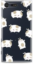 Sony Xperia X Compact Hoesje Funny Rabbit