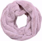 Faux fur col sjaal Blush pink Tube shawl col sjaal Nep bont