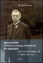 Intertextualität als Weltanschauung und Ästhetik des Epigonalen - Das Instrumentalwerk Conrad Ansorges